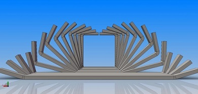 LW200(50×50mm) Direct forming to square tube mill
