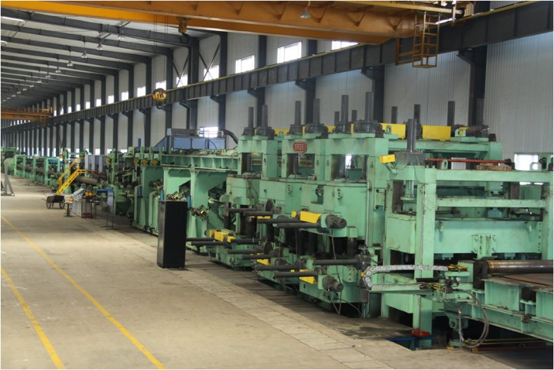 Stainless steel decorative tube mill line which is good