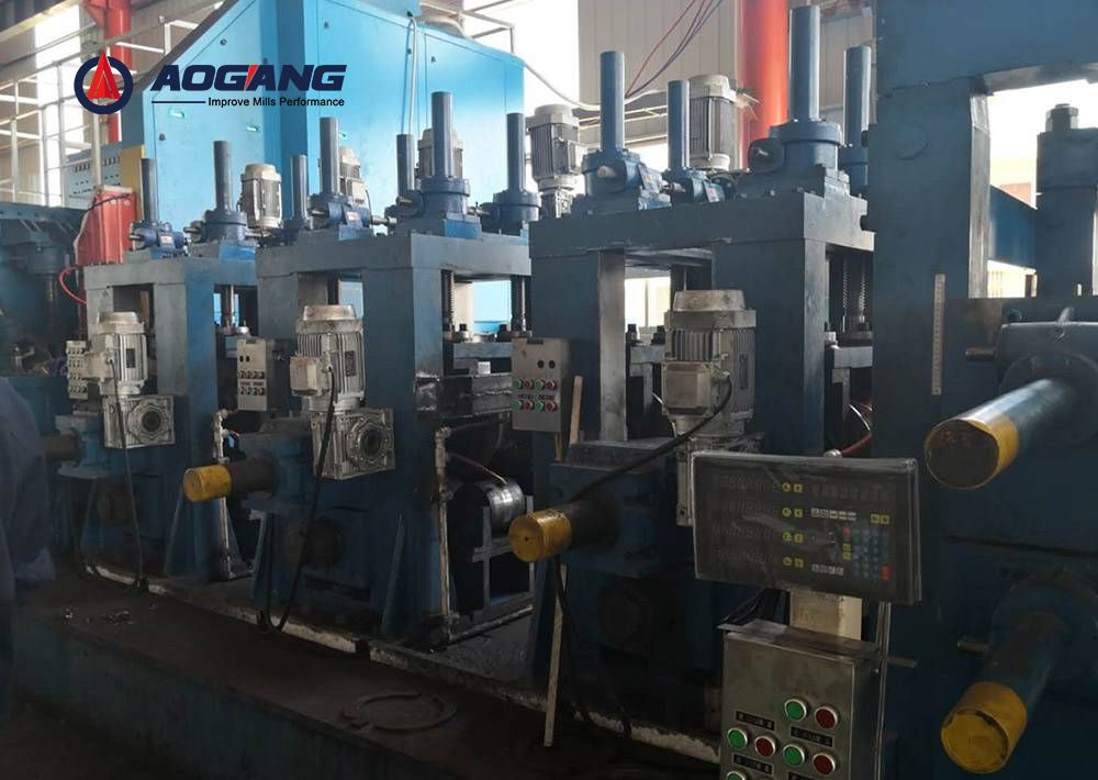 LW600 Direct Square to Square Forming Pipe Mill