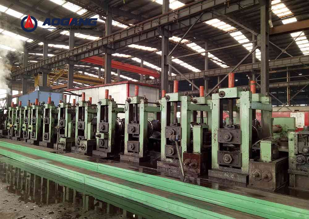 LW800 Direct Square to Square Forming Pipe Mill