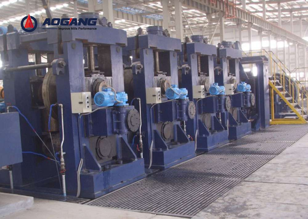LW1600 Direct Square to Square Forming Pipe Mill