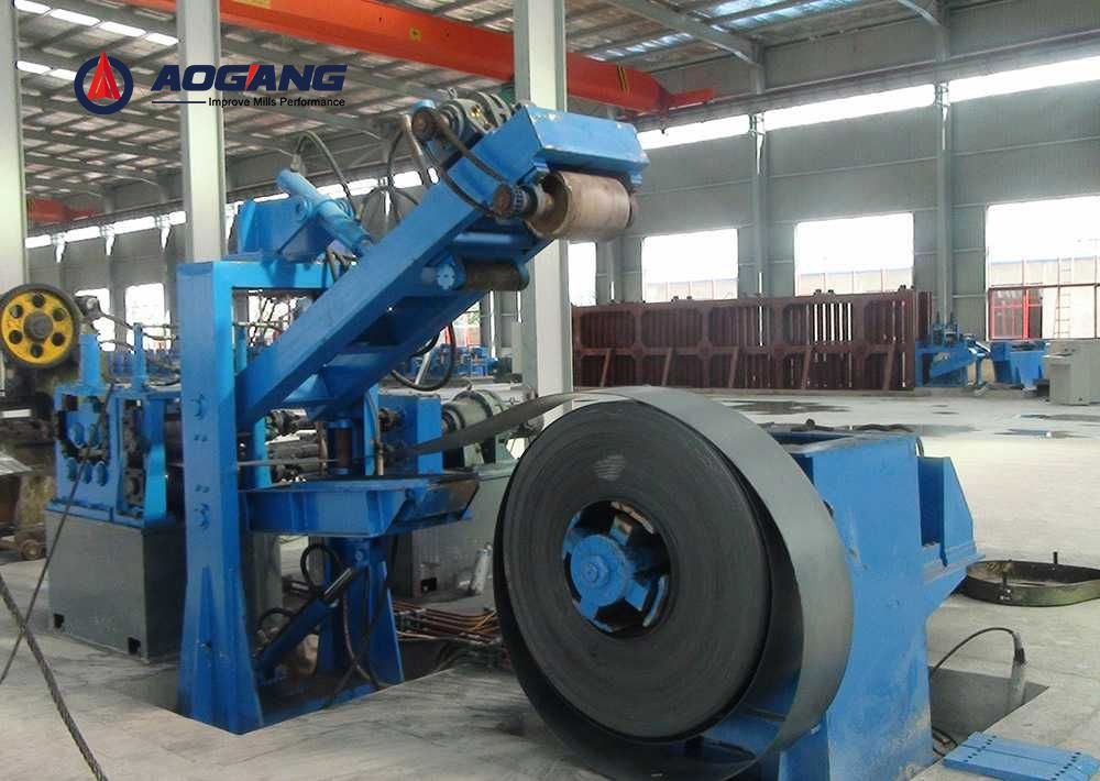 LW400 Direct Square to Square Forming Pipe Mill