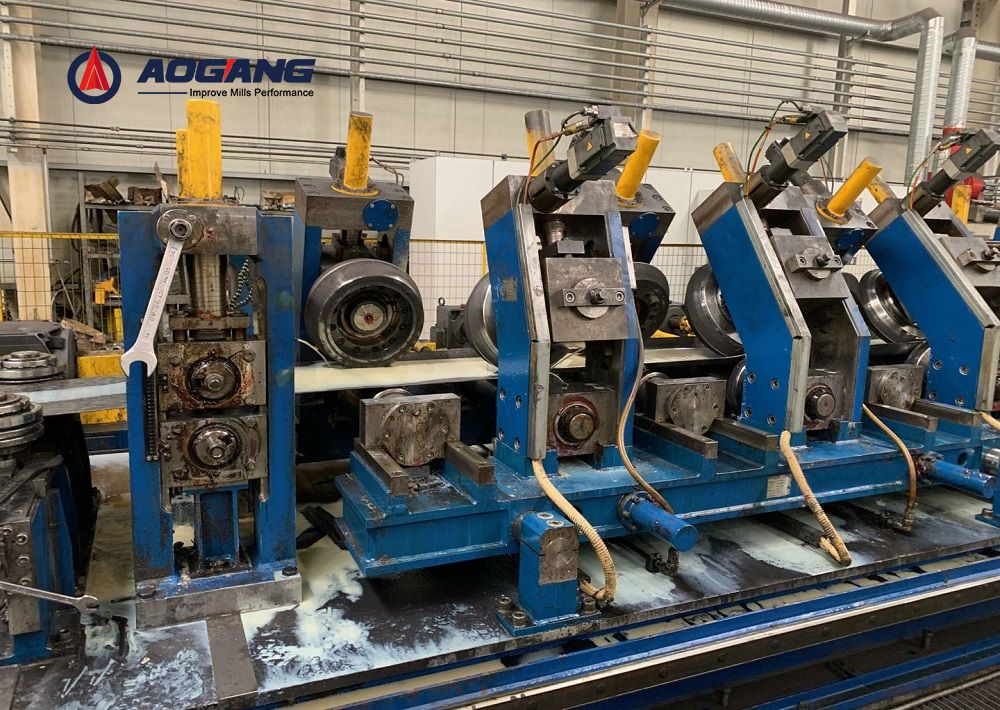 DFS50(50×50mm) Direct forming to square tube mill