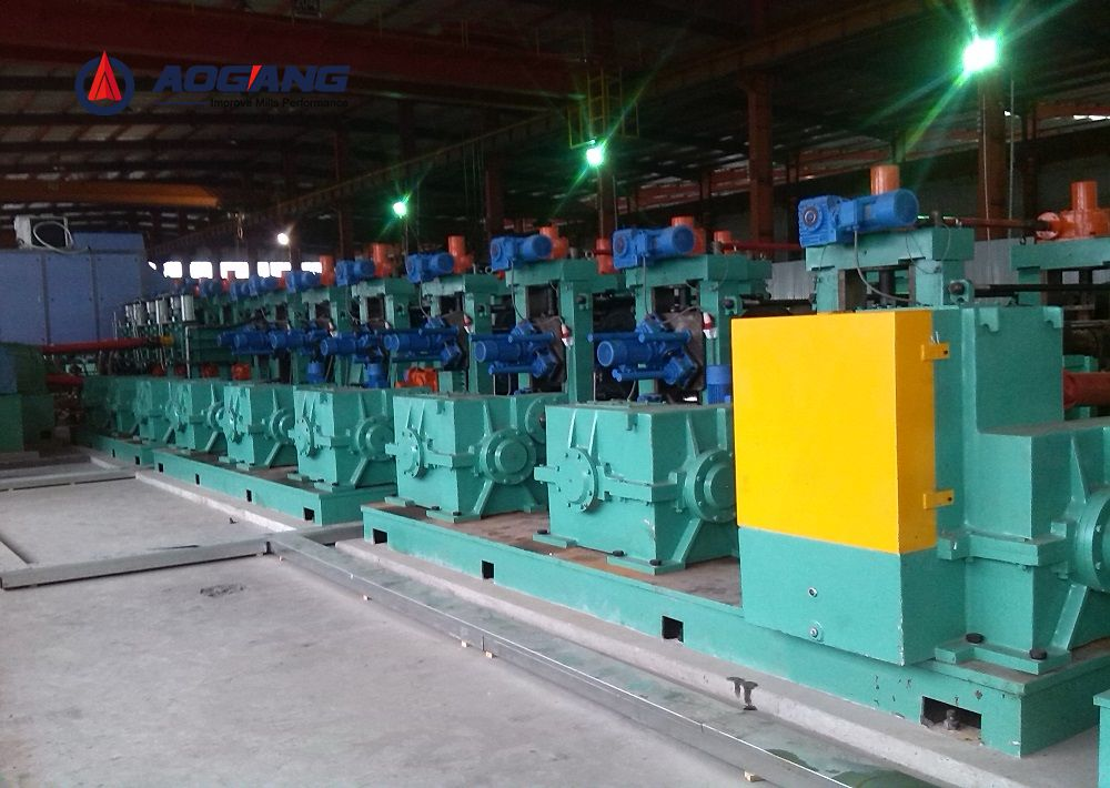 DFS250(250×250mm) Direct Forming to Square Pipe Mill