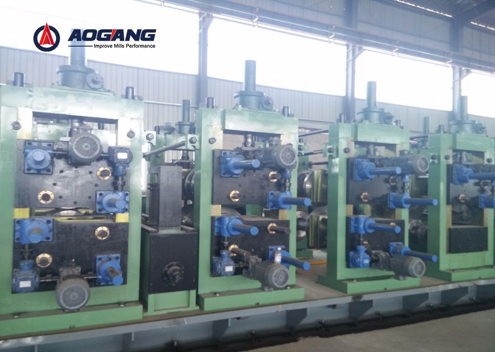 DFS300 (300×300mm)Direct Forming to Square Pipe Mill