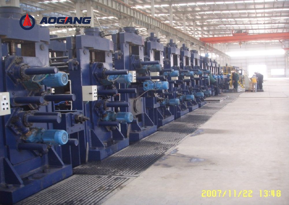 DFS400 (400×400mm) Direct Forming to Square Pipe Mill