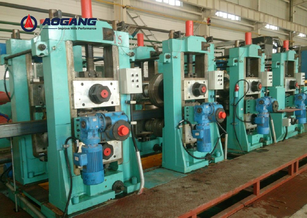 DFS350 (350×350mm) Direct Forming to Square Pipe mill/Tube mill