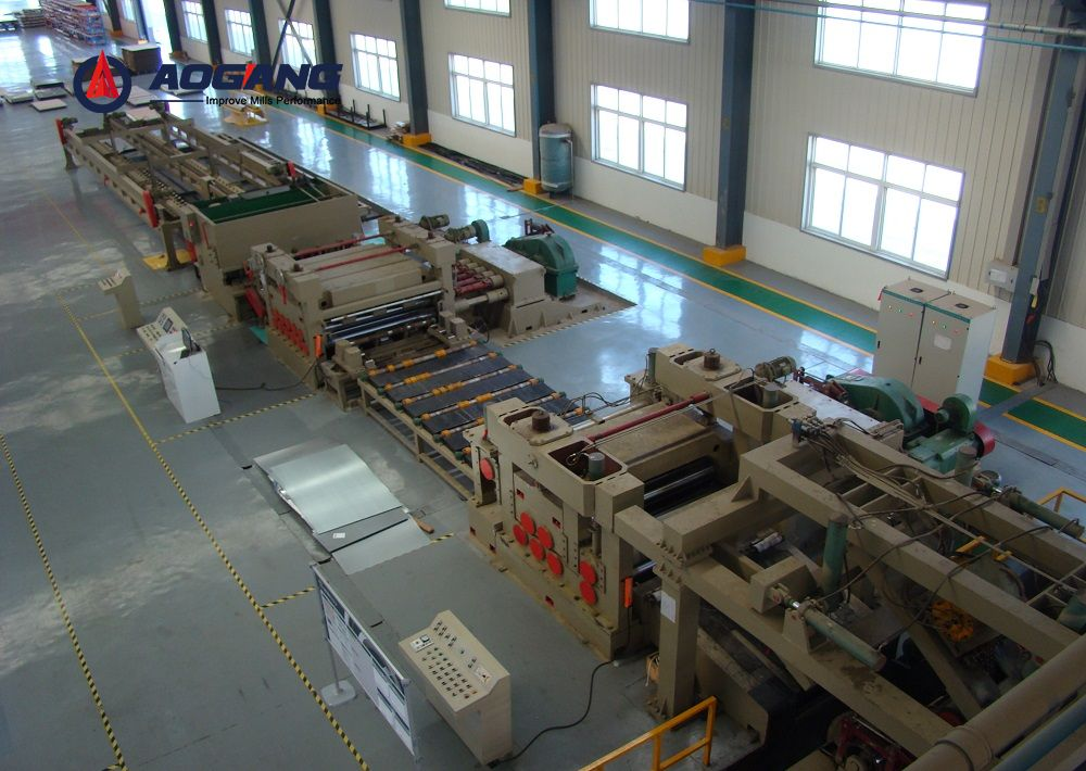 High Precision Slitting line