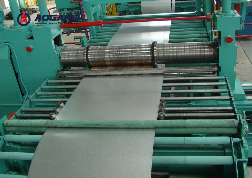 Thin sheet slitting line