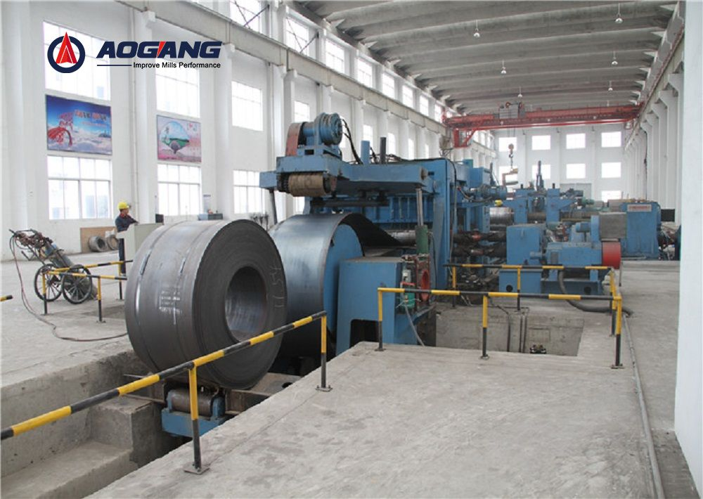 Heavy Gauge Cut to Length Line